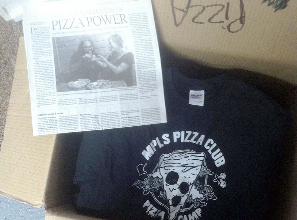 Pizza Camp Shirts are in!